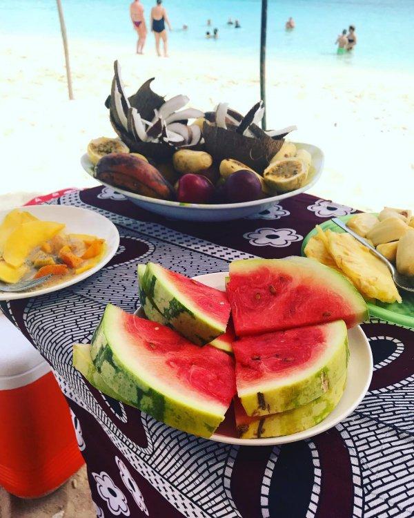 food, meal, brunch, watermelon, breakfast,
