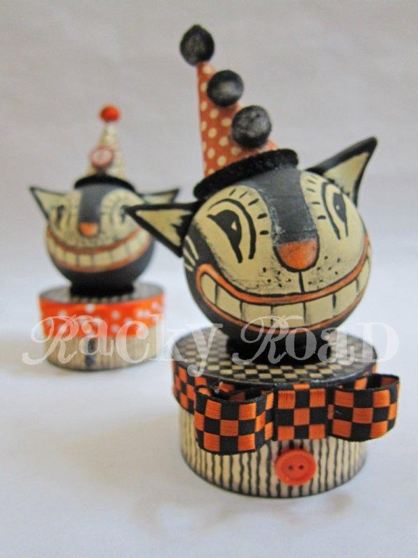 Halloween Cat Trinket Box