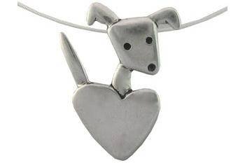 Mark Poulin Puppy Love Necklace