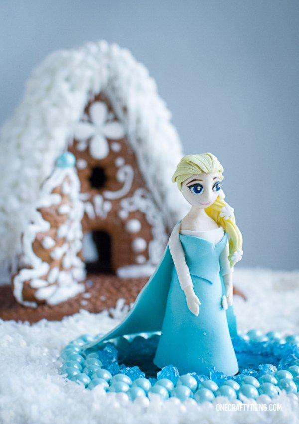 Frozen Gingerbread House