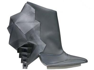 Balenciaga Latex Ankle Boot