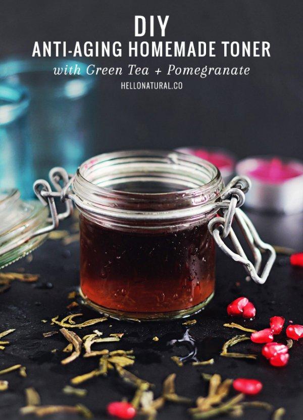 Green Tea and Pomegranate