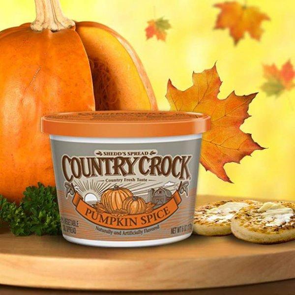 Pumpkin Spice Country Crock