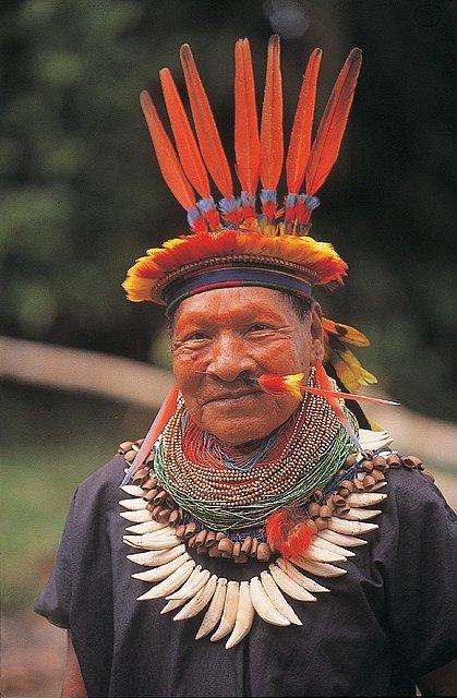 Amazonian, Ecuador Shaman