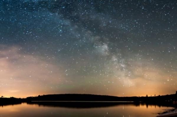 sky, nature, atmosphere, water, night,