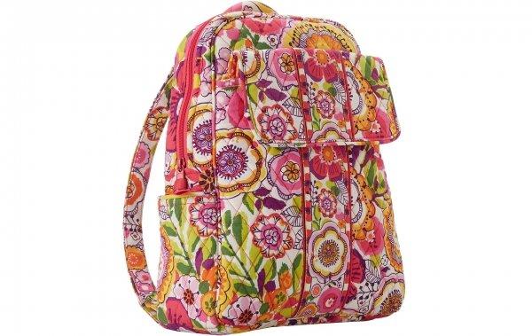 Vera Bradley Backpack in Clementine