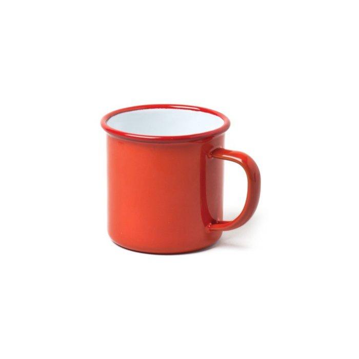 Falcon Enamelware Mug, Red