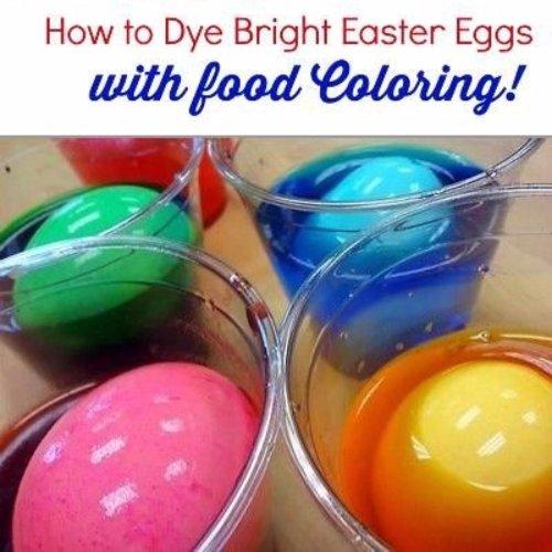 Food Coloring Eggs