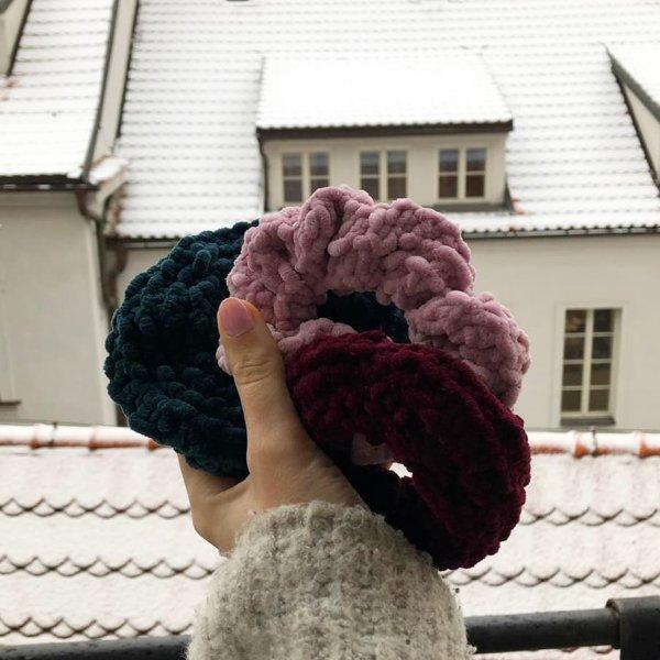 fur, purple, wool, headgear, pom pom,