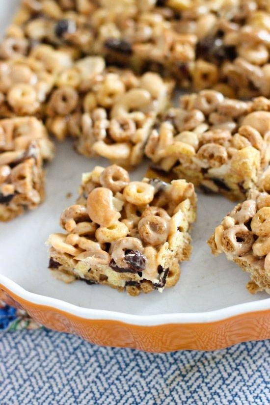 Kitchen Sink Cereal Treats