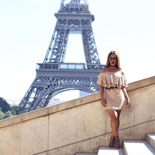 Eiffel Tower, landmark, monument, statue, tower,