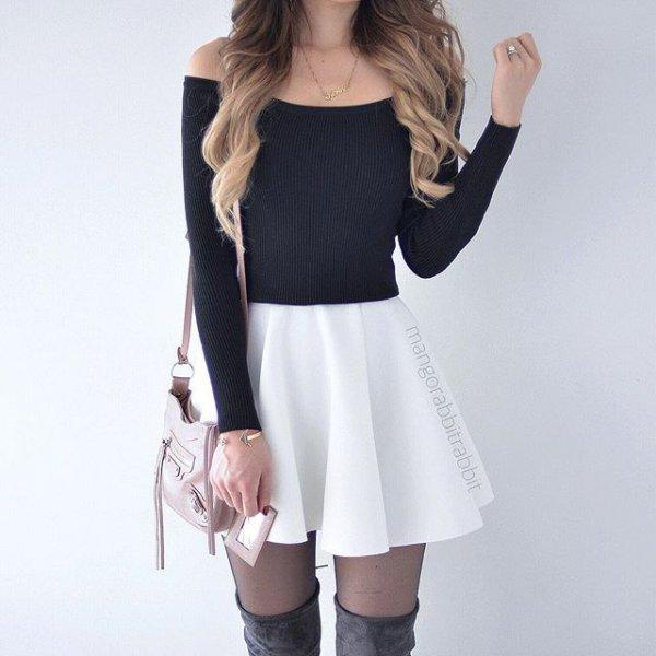 clothing, sleeve, leather, crop, tuxedo,
