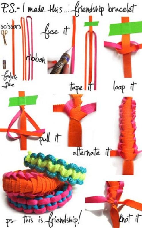 DIY Friendship Bracelet...