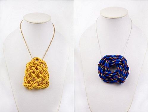 DIY Rope Necklace...