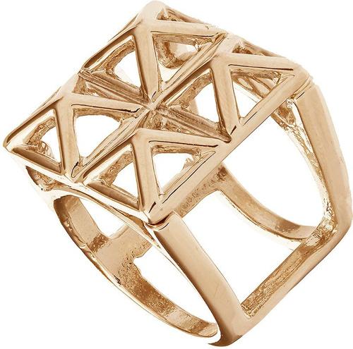 Topshop Pyramid 3D Cage Ring