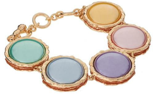 Disaya Pink Macaroon Bracelet