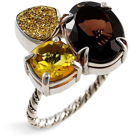 Lori Bonn Spice of Life – Chai Cluster Ring