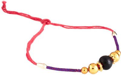 ASOS Pom Pom Coil Friendship Bracelet