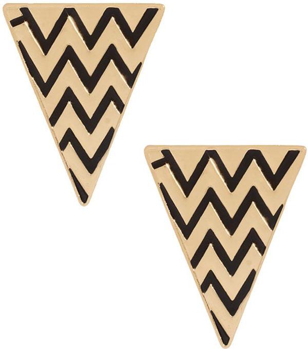 ASOS Zig Zag Earrings