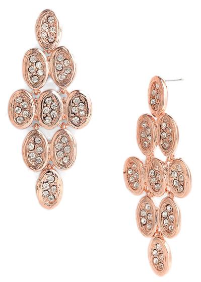 Tasha Crystal Kite Chandelier Earrings