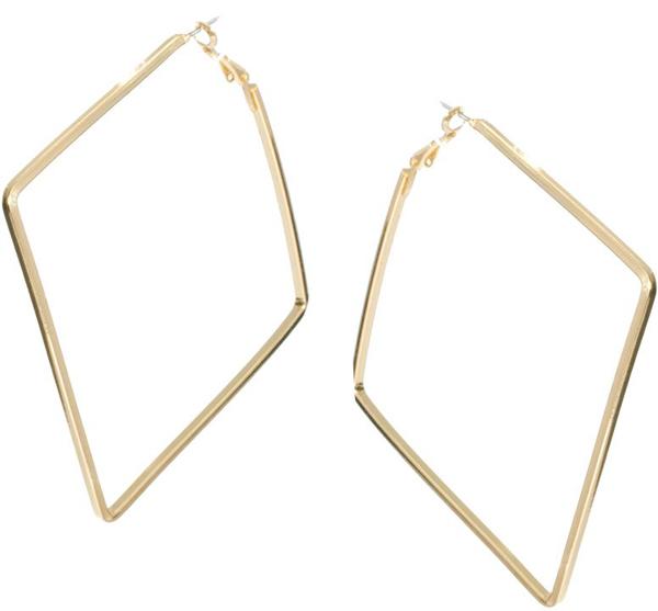 ASOS Square Hoop Earrings