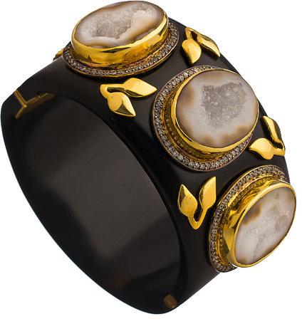 Druzy Stone Chunky Bracelet