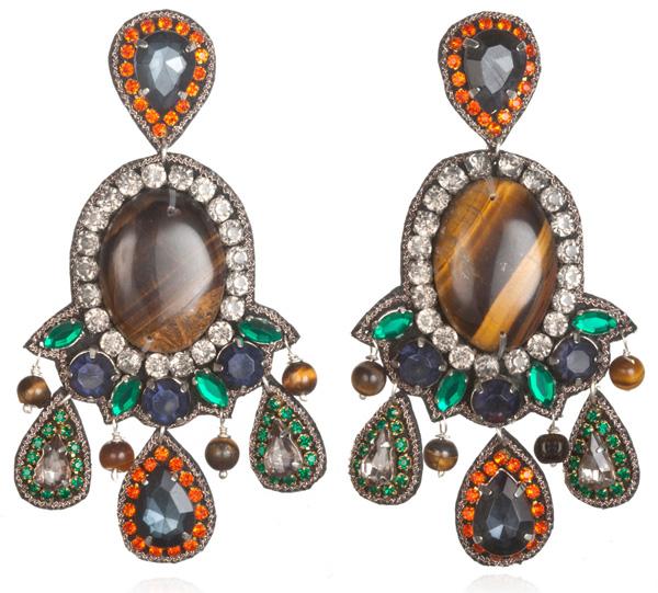 Suzanna Dai Romani Large Drop Earrings