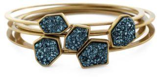 Druzy Stone Bangle Bracelet