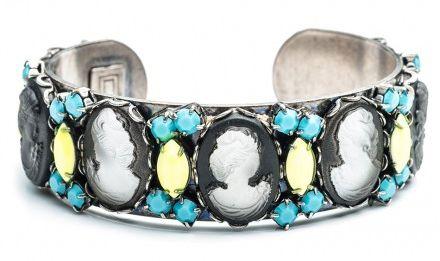 Cameo Bracelet Cuff