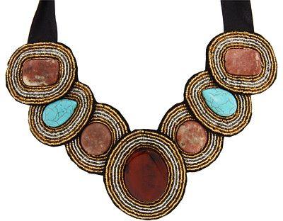 Handmade Bib Necklace