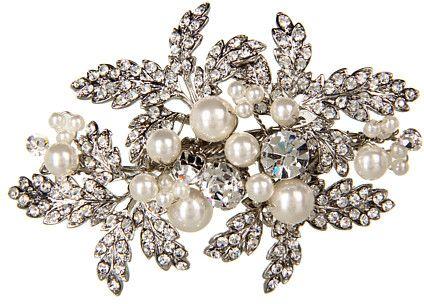 Pearl Cluster Brooch