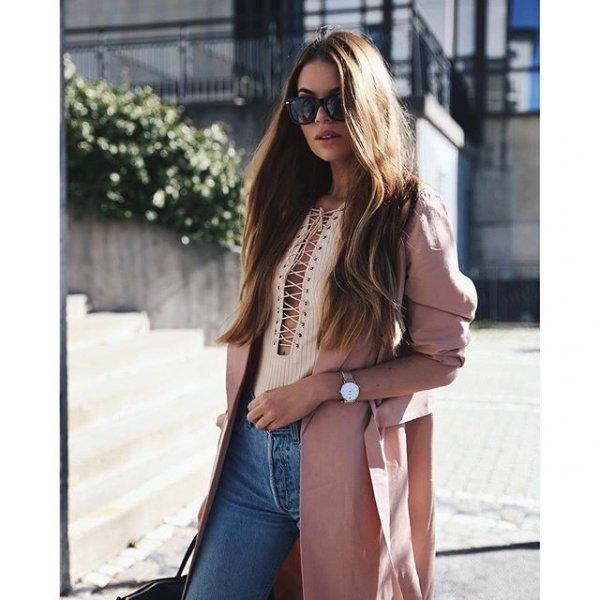clothing, brown, outerwear, footwear, jacket,