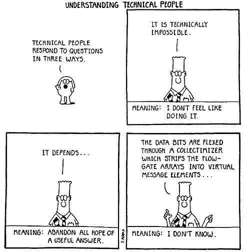 Understanding Technical People