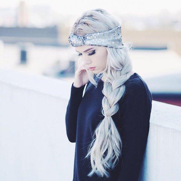 clothing, eyewear, hair, hairstyle, cobalt blue,