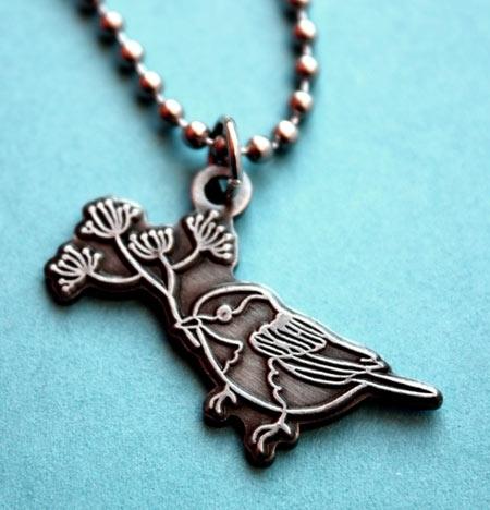 Susie Ghahremani Chickadee Necklace