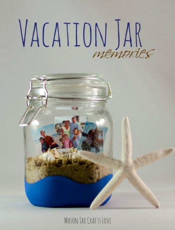 Mason Jar Vacation Jar