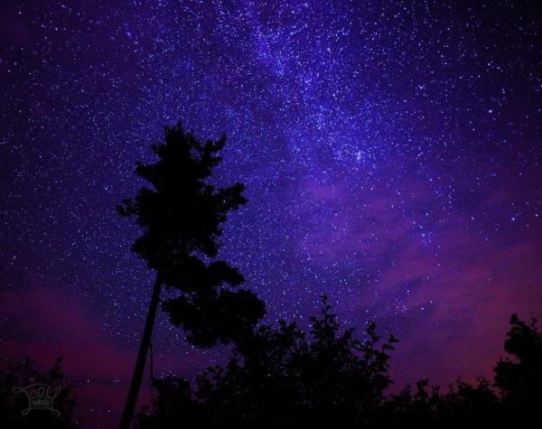 sky, nature, atmosphere, purple, night,