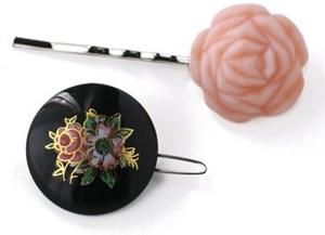 Vintage Blossom Bobby Pin & Barrette