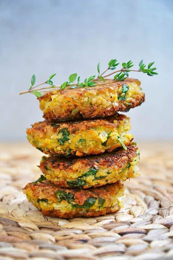 Healthy Falafel Burgers