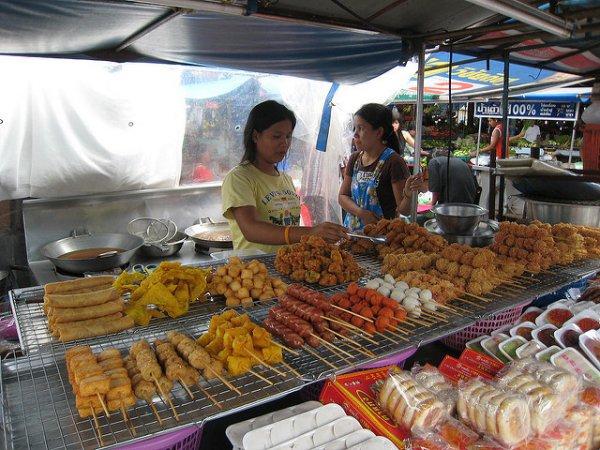 marketplace, city, market, public space, food,