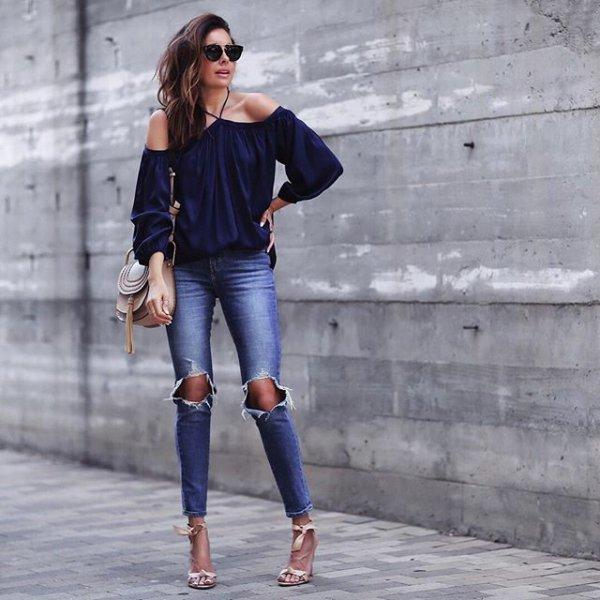 clothing, denim, jeans, blue, footwear,