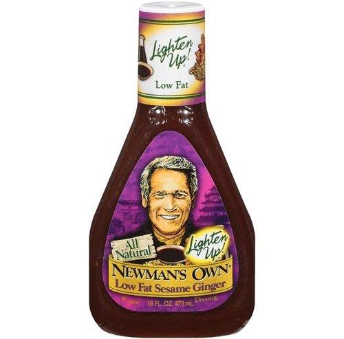 Newman's Own Lighten up! Lowfat Sesame Ginger – 35 Calories per 2 Tablespoons