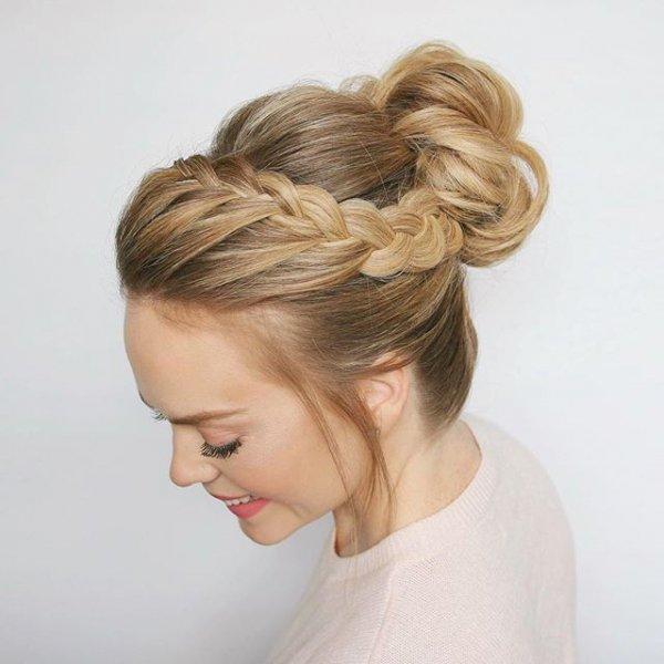 hair, hairstyle, long hair, bun, chignon,