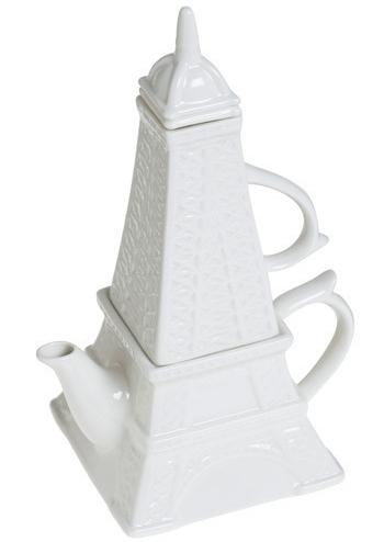 Eiffel Tea-wer Set for One