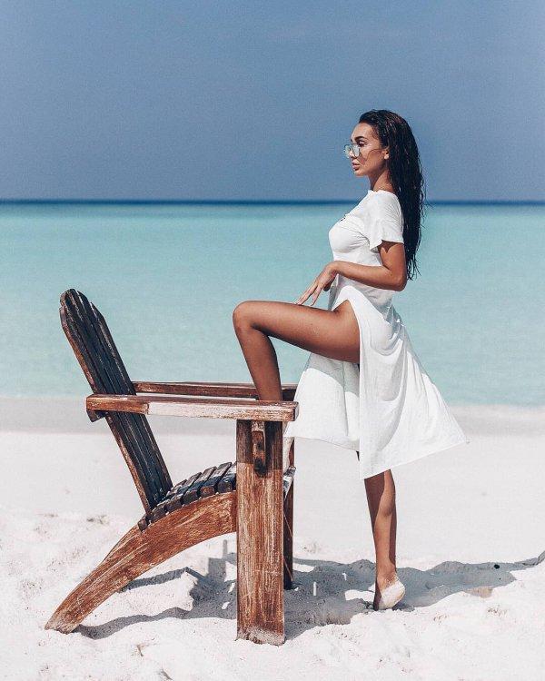 sitting, vacation, furniture, summer, sea,
