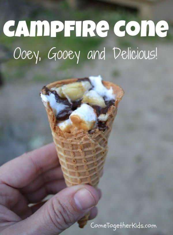 Campfire Cone