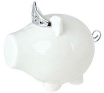 Oink Silver Tiara Money Box