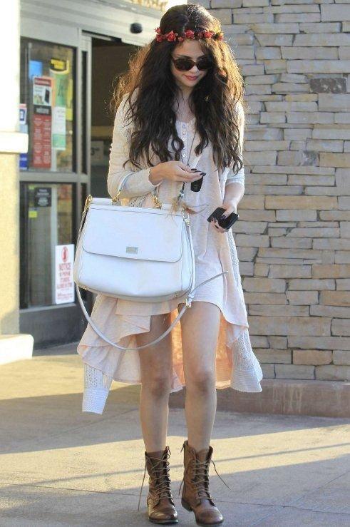 Hippie Chic - 7 Amazing Street Style Looks from Selena Gomez to…