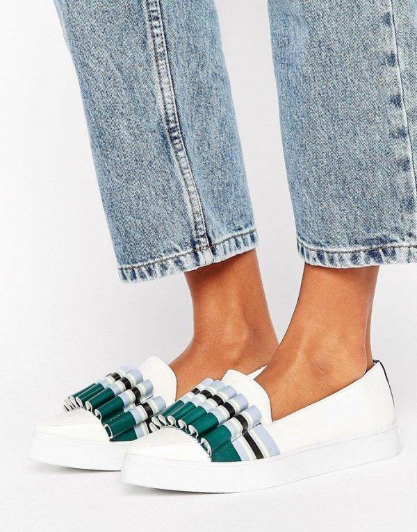 footwear, shoe, white, sneakers, spring,
