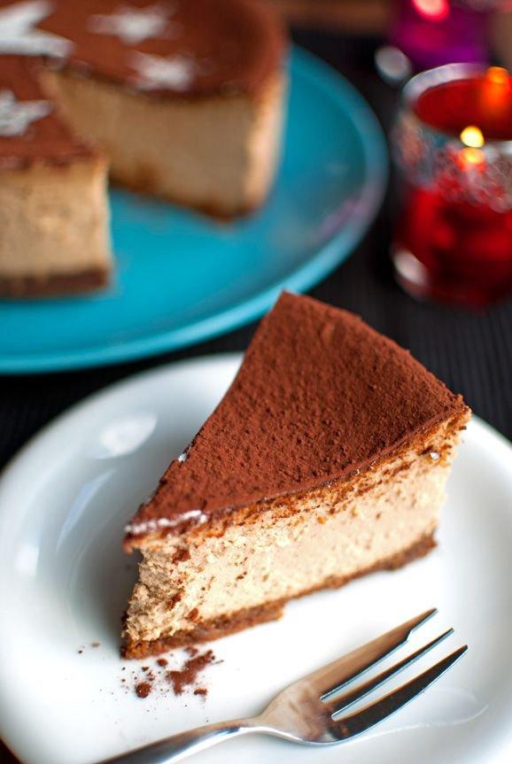 Tiramisu Cheesecake with Guinness